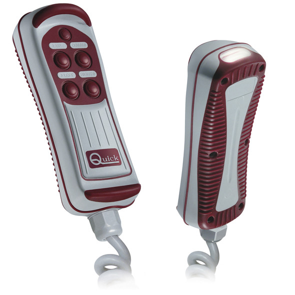 Quick HRC1004L 4-Button Remote w\/LED Light [FPHRC1004L00C00]