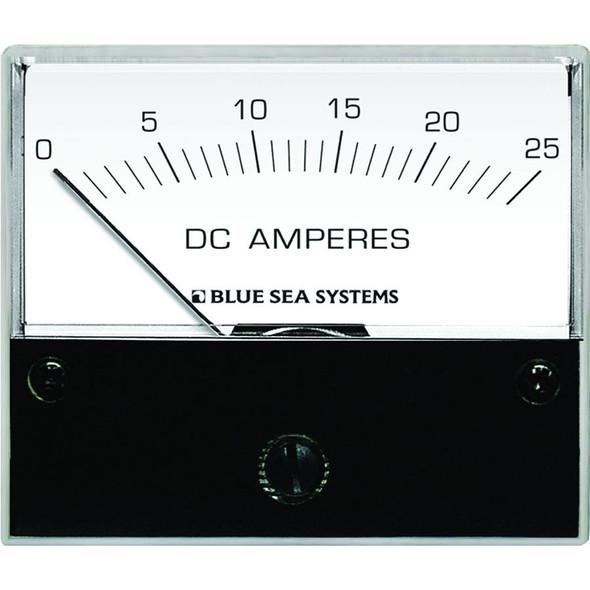 "Blue Sea 8005 DC Analog Ammeter - 2-3/4"" Face, 0-25 Amperes DC"