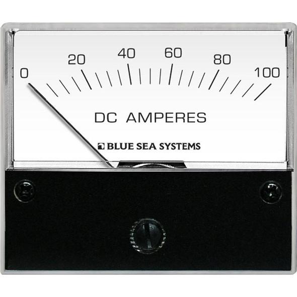"Blue Sea 8017 DC Analog Ammeter - 2-3\/4"" Face, 0-100 Amperes DC [8017]"