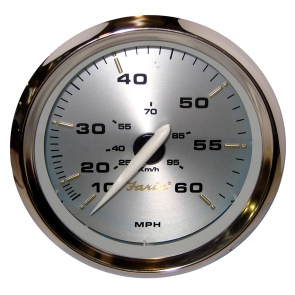 "Faria Kronos 4"" Speedometer - 60MPH (Mechanical) [39009]"