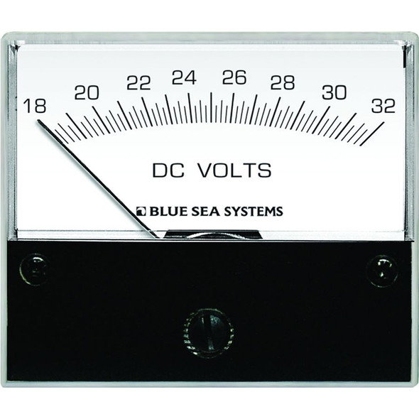 "Blue Sea 8240 DC Analog Voltmeter - 2-3\/4"" Face, 18-32 Volts DC [8240]"