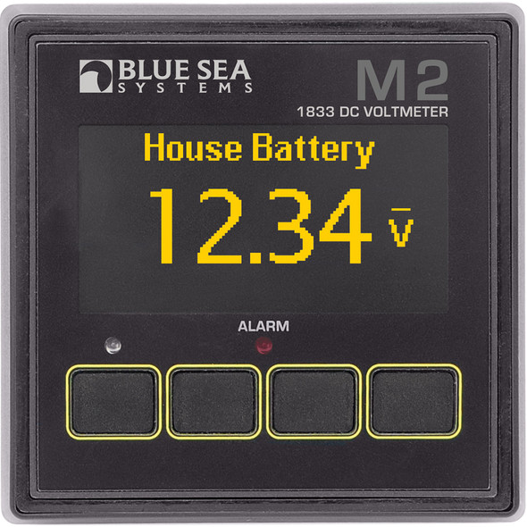 Blue Sea 1833 M2 DC Voltmeter [1833]
