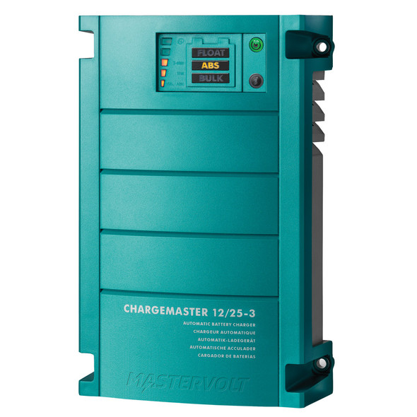 Mastervolt ChargeMaster 25 Amp Battery Charger - 3 Bank, 12V [44010250]