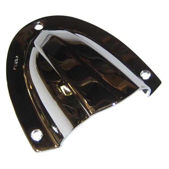 "Perko Clam Shell Ventilator - Chrome Plated Brass - 4"" x 3-3/4"" [0339DP0CHR]"