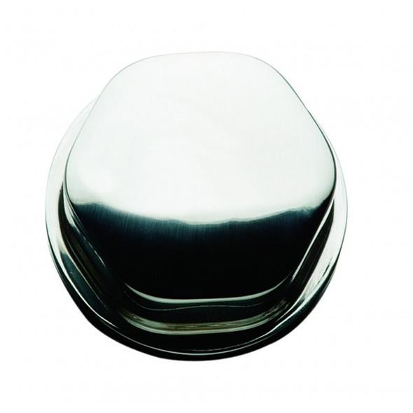 "Schmitt Faux Center Nut - Chrome/Plastic - 1/2""& 3/4"" Base - For Cast Steering Wheels [CAP0304]"