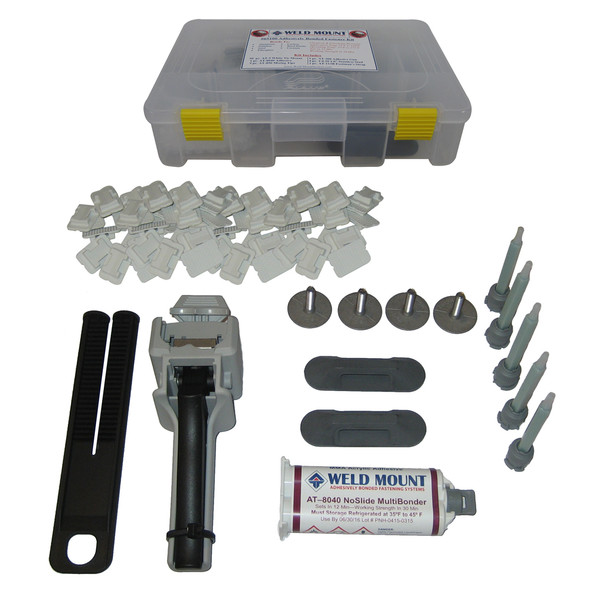 Weld Mount Adhesively Bonded Fastener Kit w\/AT 8040 Adhesive [65100]