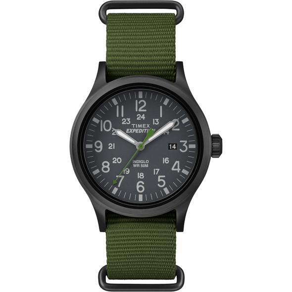 Timex Expedition Scout Slip-Thru Watch - Green [TW4B047009J]