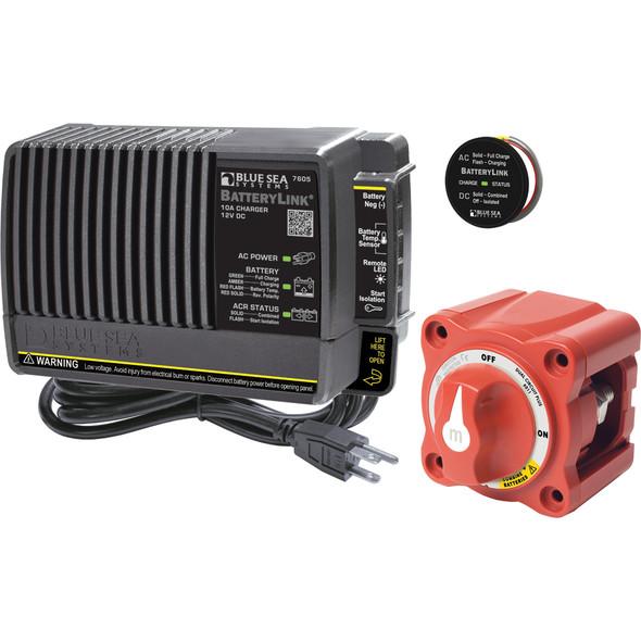 Blue Sea 7655 Mini Add-A-Battery Plus Kit - 10A [7655]