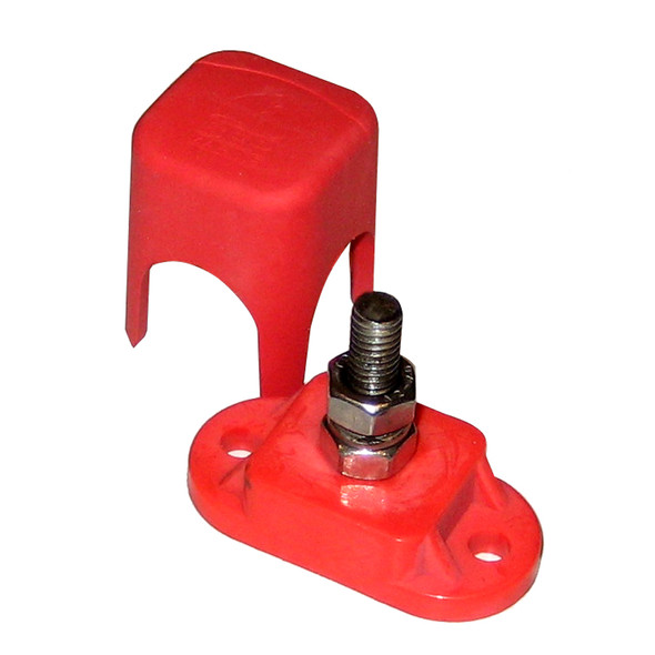 """BEP Pro Installer Single Insulated Distribution Stud - 1/4"""" - Positive [IS-6MM-1R/DSP]"""