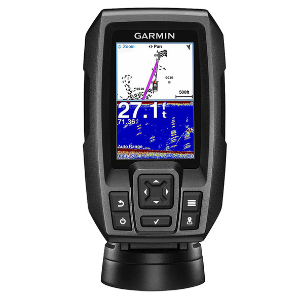 Garmin STRIKER 4 FishFinder w/4-Pin, 77/200kHz TM Transducer [010-01550-00]