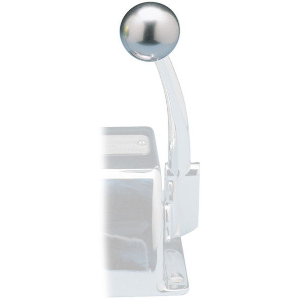 Rupp Control Knob Silver For Morse Controls (3/8-24 Thread) [03-1226-23S]