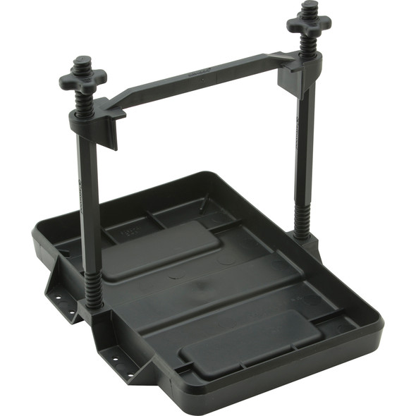 Attwood Heavy-Duty All-Plastic Adjustable Battery Tray - 27 Series [9098-5]