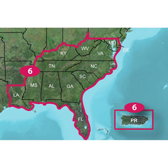 Garmin TOPO US 24K Southeast - microSD/SD [010-C1133-00]