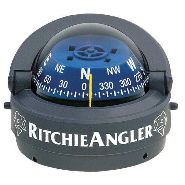 Ritchie Angler Compass - Surface Mount - Gray [RA-93]