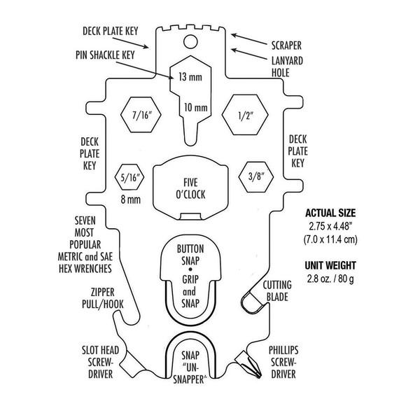Davis Snap Tool Multi-Key [382]