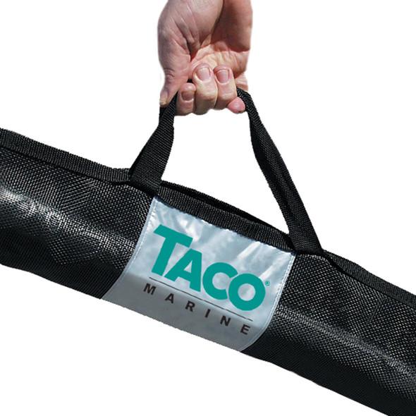 """TACO Outrigger Black Mesh Carry Bag - 72"""" x 12"""" [COK-0024]"""
