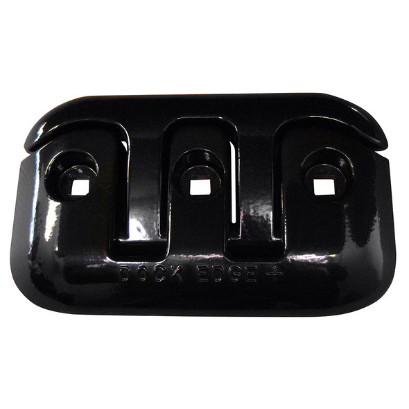 "Dock Edge Flip-Up Dock Cleat - 8"" - Black [2608B-F]"