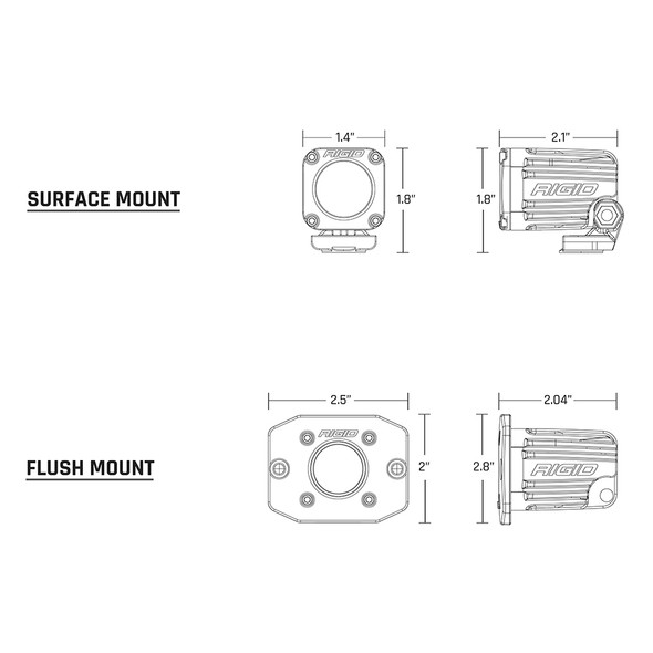 RIGID Industries Ignite Surface Mount Diffused - White LED [60531]