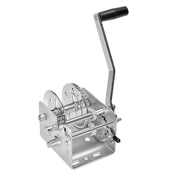 Fulton 142400 2000lb 2-Speed Winch - Strap Not Included