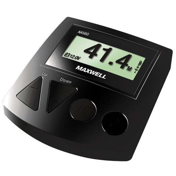 Maxwell AA560 Rope Chain or All Chain Counter Control - Black [P102944]