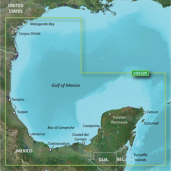 Garmin BlueChart g2 Vision HD - VUS032R - Southern Gulf of Mexico - microSD/SD [010-C0733-00]
