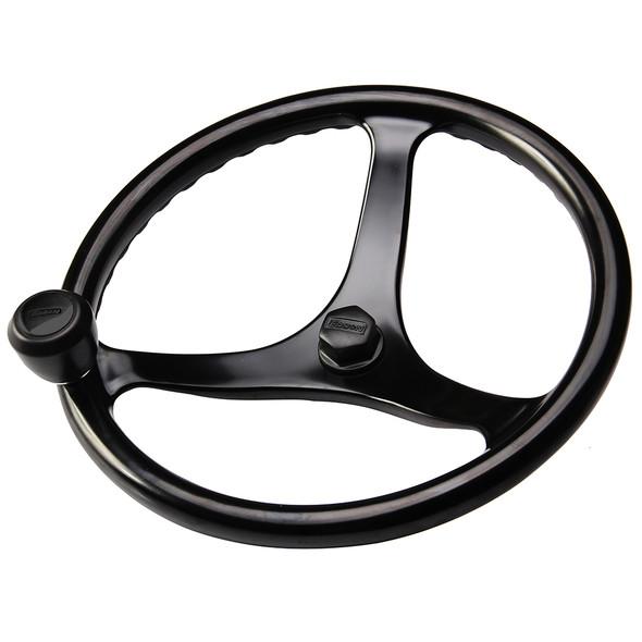 "Edson ""Special Ops"" Powerwheel - Black w/Black Nut  Knob [1710BL-13B-KIT]"