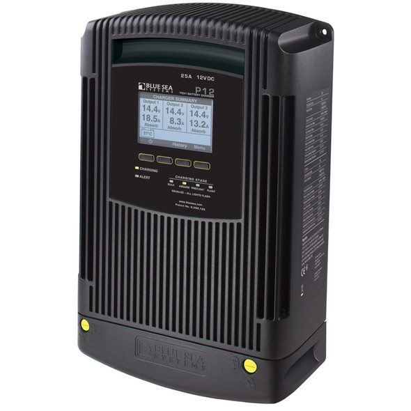 Blue Sea 7531 P12 Battery Charger - 12V DC 25A [7531]