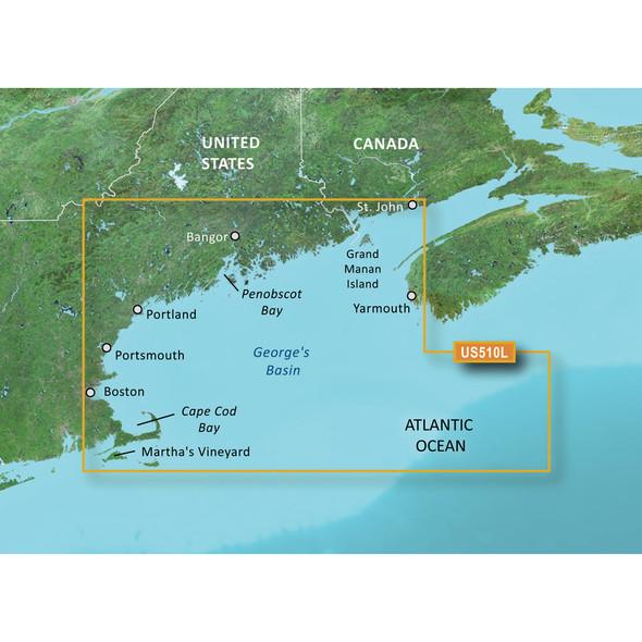 Garmin BlueChart g3 Vision HD - VUS510L - St. John - Cape Cod - microSD/SD [010-C0739-00]