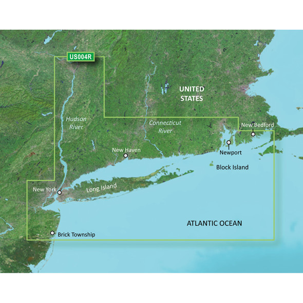 Garmin BlueChart g3 Vision HD - VUS004R - New York - microSD/SD [010-C0705-00]