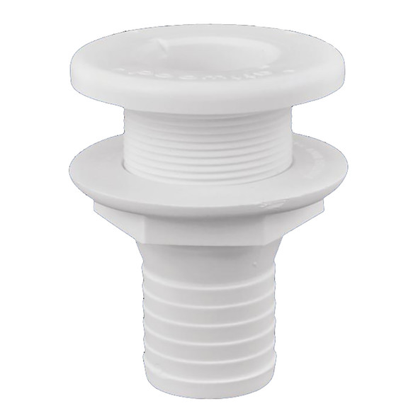 "Attwood Plastic Thru-Hull Fitting - 1-1\/2"" - White [3875-3]"