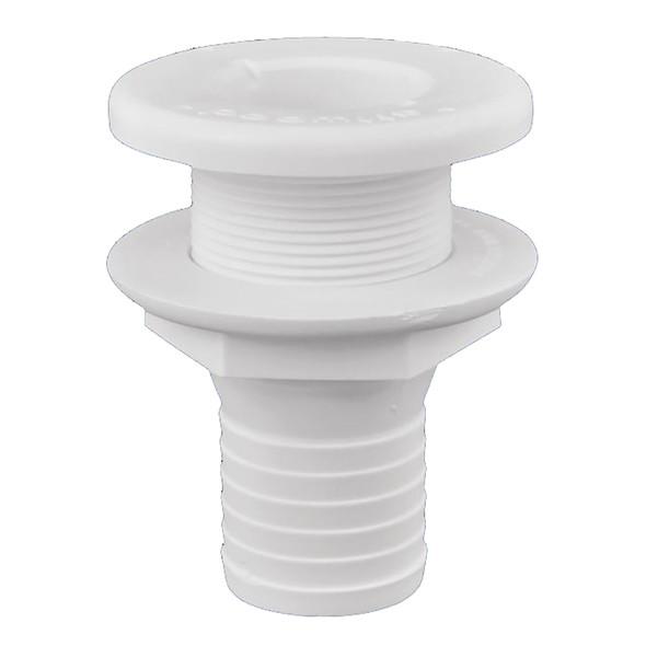 "Attwood Plastic Thru-Hull Fitting - 1-1/2"" - White [3875-3]"