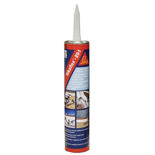 Sika Sikaflex 291 Fast Cure Adhesive  Sealant 10.3oz(300ml) Cartridge - White [90919]