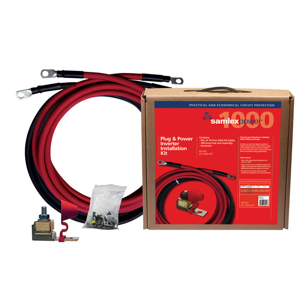 Samlex 100A Inverter Installation Kit f/1000W Inverter [DC-1000-KIT]