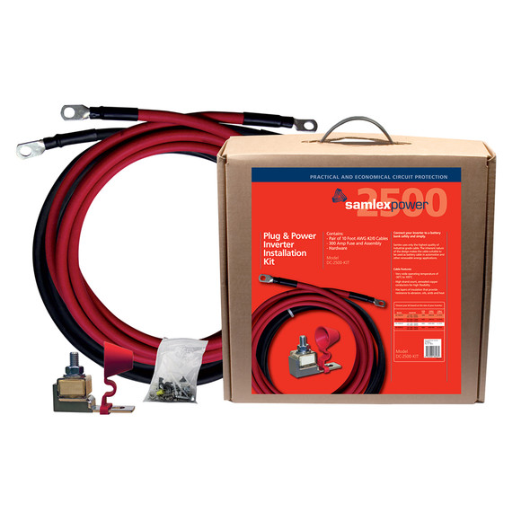 300A Inverter Installation Kit f/2500W Inverter [DC-2500-KIT]