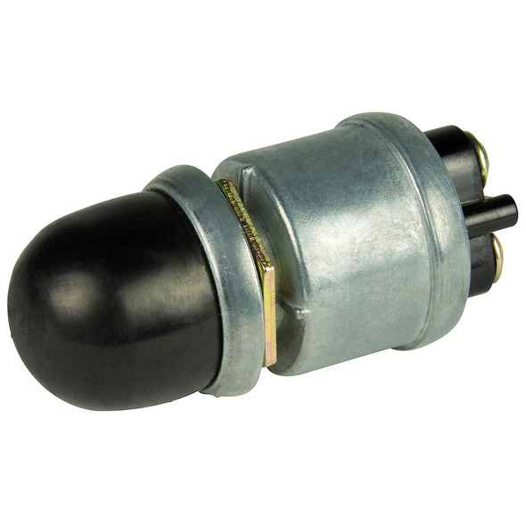BEP 2-Position SPST Heavy-Duty Push Button Switch - OFF\/(ON) [1001504]