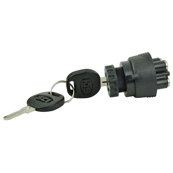 BEP 3-Position Ignition Switch - OFF/Ignition-Accessory/Start [1001607]