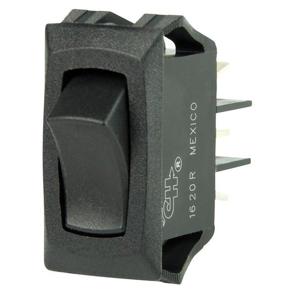 BEP Curved SPDT Mini Rocker Switch - 12V - ON/ON [1001706]