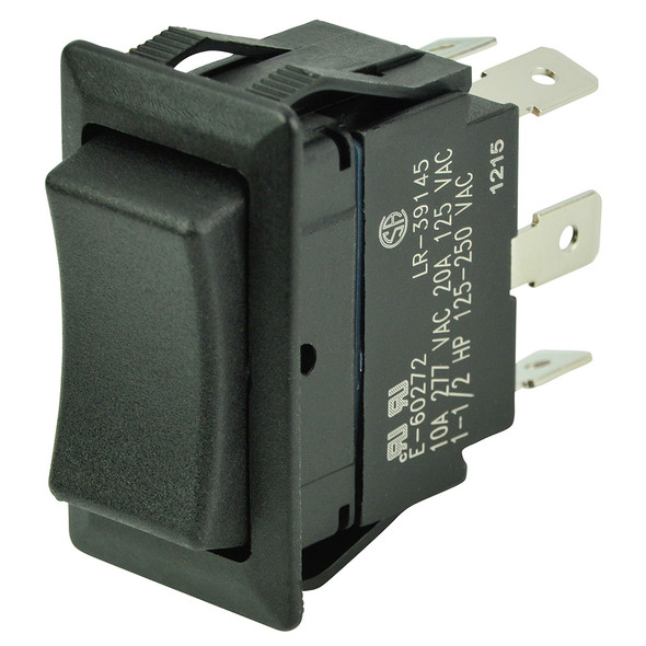 BEP DPDT Rocker Switch - 12V/24V - (ON)/OFF/(ON) [1001713]