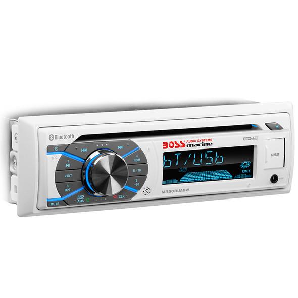 Boss Audio MR508UABW Single-DIN CD\/USB\/SD\/MP3\/WMA\/AM\/FM Receiver w\/Bluetooth [MR508UABW]