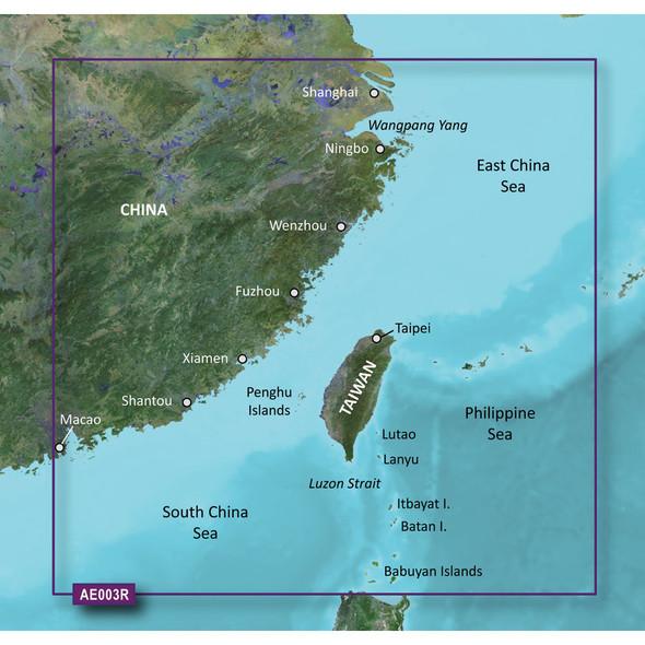 Garmin BlueChart g2 Vision HD - VAE003R - Taiwan - microSD/SD [010-C0878-00]