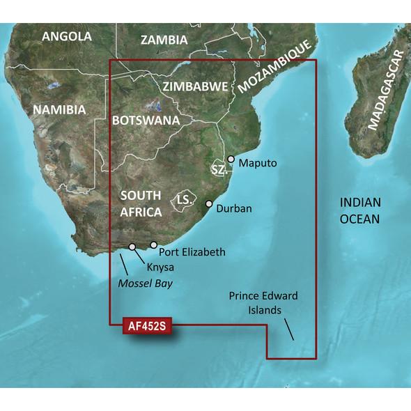 Garmin BlueChart g2 Vision HD - VAF452S - Knysna, SA to Beira, MZ - microSD/SD [010-C0752-00]
