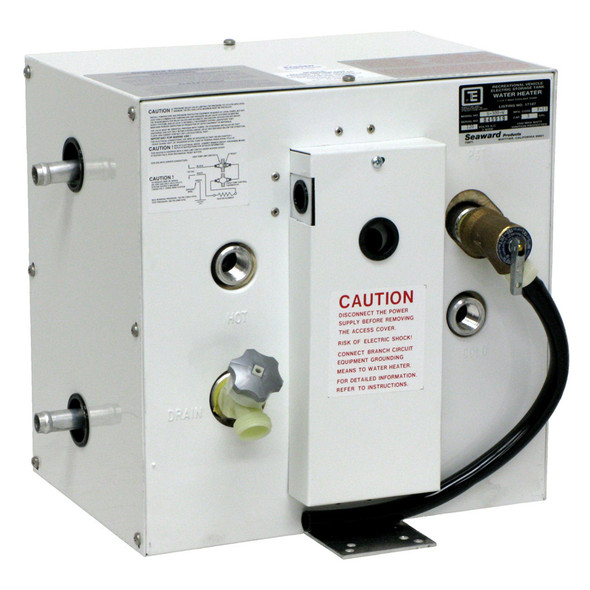 Whale Seaward 3 Gallon Hot Water Heater w/Side Heat Exchanger - White Epoxy - 120V [S300W]