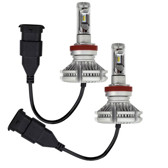 HEISE H11 LED Headlight Kit - Single Beam - Pair [HE-H11LED]