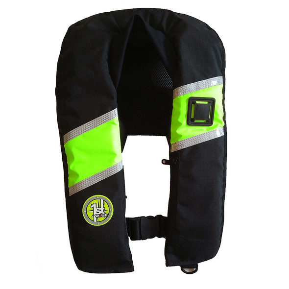 First Watch 33 Gram Inflatable PFD - Automatic - Hi-Vis [FW-330A-HV]
