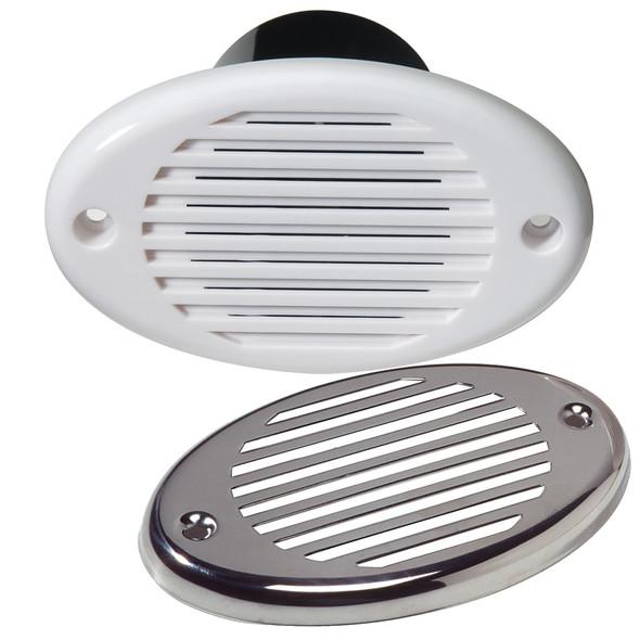 Innovative Lighting Marine Hidden Horn - White w/Stainless Steel Overlay [540-0101-7]