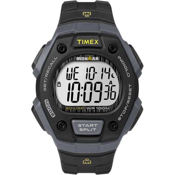 Timex IRONMAN Classic 30 Lap Full-Size Watch - Black [TW5M09500JV]
