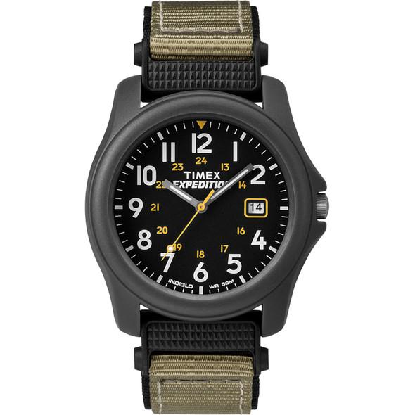 Timex Expedition Camper Nylon Strap Watch - Black [T42571JV]