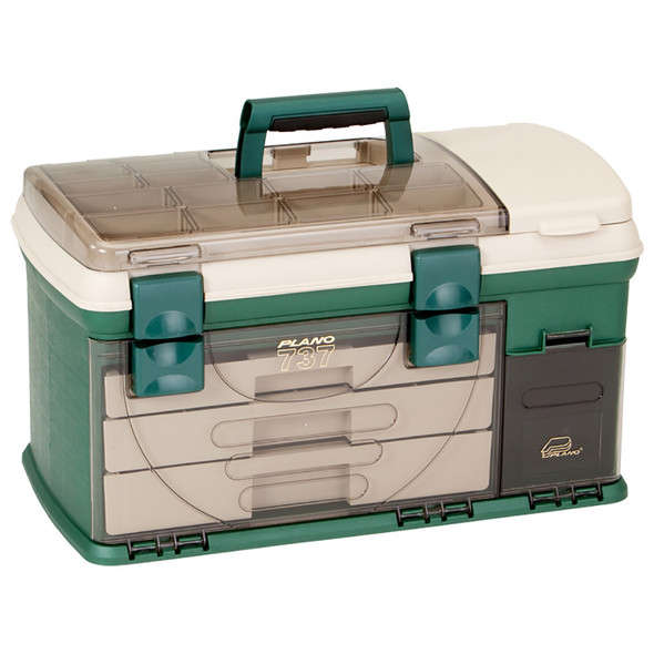 Plano 3-Drawer Tackle Box XL - Green\/Beige [737002]