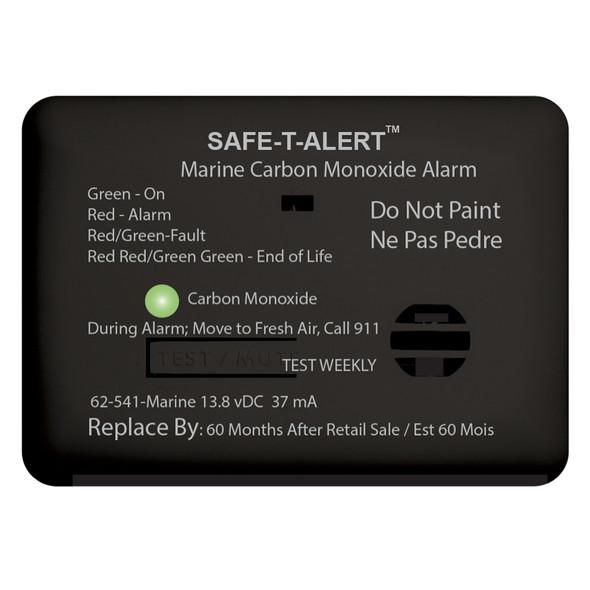 Safe-T-Alert 62 Series Carbon Monoxide Alarm w/Relay - 12V - 62-541-R-Marine - Surface Mount - Black [62-541-R-MARINE-BL]