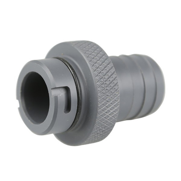 "FATSAC 3/4"" Male Quick Connect 1-1/8"" Barbed Tsunami Pump Threads w/O-Rings [W738]"